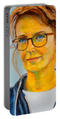 Claudia-portrait Portable Battery Charger