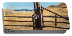 Clean Power And Old Ranch Gates Portable Battery Charger