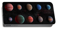 Clear To Cloudy Hot Jupiters Portable Battery Charger