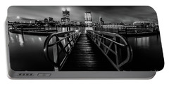 Clearing Skies In Milwaukee Monochrome Portable Battery Charger