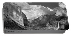 Clearing Skies Yosemite Valley Portable Battery Charger