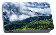 Portable Battery Charger featuring the photograph Clearing Storm Highland Scenic Highway by Thomas R Fletcher