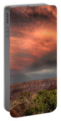 Clearing Storm Sunset Grand Canyon 7r2_dsc1813_08132017 Portable Battery Charger