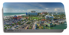 Portable Battery Charger featuring the photograph Clearwater Beach Florida by Steven Sparks