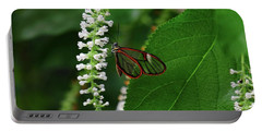 Clearwing Butterfly Portable Battery Charger