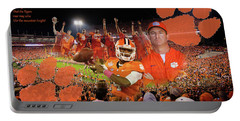 Clemson National Champs Portable Battery Charger