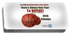 Cleveland Basketball 2016 Champs New Motto Portable Battery Charger