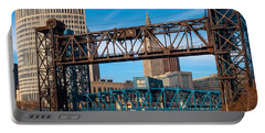 Cleveland City Of Bridges Portable Battery Charger