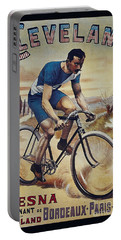 Cleveland Lesna Cleveland Gagnant Bordeaux Paris 1901 Vintage Cycle Poster Portable Battery Charger