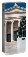 Cleveland Museum Of Art, The Thinker Portable Battery Charger