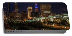 Cleveland Nightscape Portable Battery Charger