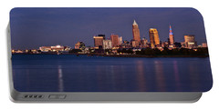 Cleveland Ohio Portable Battery Charger by Dale Kincaid
