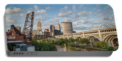 Cleveland Skyline Vista Portable Battery Charger