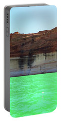 Cliff At Lake Powell Portable Battery Charger