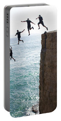 Cliff Diving Portable Battery Charger