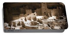 Portable Battery Charger featuring the photograph Cliff Palace Mesa Verde by Kurt Van Wagner