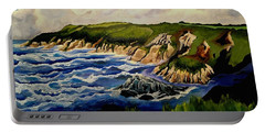 Cliffs And Sea Portable Battery Charger