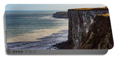 Cliffs Of Bempton Portable Battery Charger by Anthony Baatz