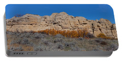 Portable Battery Charger featuring the photograph Cliffs Of Hoodoos by Fran Riley