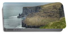 Portable Battery Charger featuring the photograph Cliffs Of Moher 1 by Marie Leslie