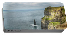 Portable Battery Charger featuring the photograph Cliffs Of Moher 3 by Marie Leslie