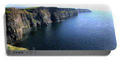 Cliffs Of Moher Portable Battery Charger by Catherine Alfidi
