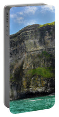 Portable Battery Charger featuring the photograph Cliffs Of Moher From The Sea Close Up by RicardMN Photography