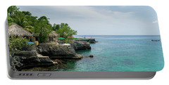 The Cliffs Of Negril Portable Battery Charger