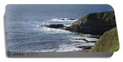 Cliffs Overlooking Donegal Bay II Portable Battery Charger by Greg Graham