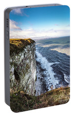 Portable Battery Charger featuring the photograph Cliffside View by Anthony Baatz