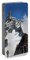 Climbing In The Alps Portable Battery Charger