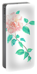 Climbing Rose Portable Battery Charger