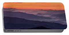 Clingmans Dome Fall Sunrise Portable Battery Charger