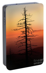 Portable Battery Charger featuring the photograph Clingman's Dome Sunrise by Douglas Stucky