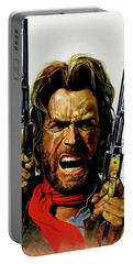 Clint Eastwood As Josey Wales Portable Battery Charger