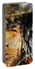 Clint Eastwood Portable Battery Charger by Michael Cleere