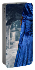 Cloaked Woman Portable Battery Charger