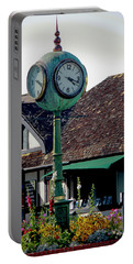 Clock Of Solvang Portable Battery Charger