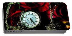 Clock-rose Portable Battery Charger