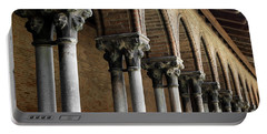 Portable Battery Charger featuring the photograph Cloister Detail, Couvent Des Jacobins by Elena Elisseeva