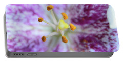 Close Up Flower Portable Battery Charger