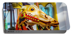 Close Up Giraffe Ride Portable Battery Charger