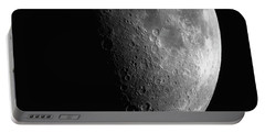 Close-up Of Moon Portable Battery Charger