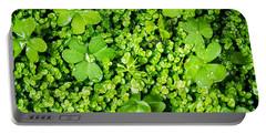 Lush Green Soothing Organic Sense Portable Battery Charger