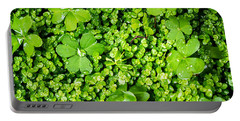 Lush Green Soothing Organic Sense Portable Battery Charger