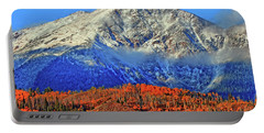 Portable Battery Charger featuring the photograph Closing In On Fall by Scott Mahon