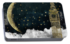 Cloud Cities London Portable Battery Charger by Mindy Sommers
