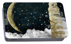 Cloud Cities Pisa Italy Portable Battery Charger by Mindy Sommers