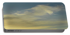 Portable Battery Charger featuring the photograph Cloud Composition  by Lyle Crump