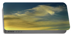 Portable Battery Charger featuring the photograph Cloud Composition Two  by Lyle Crump